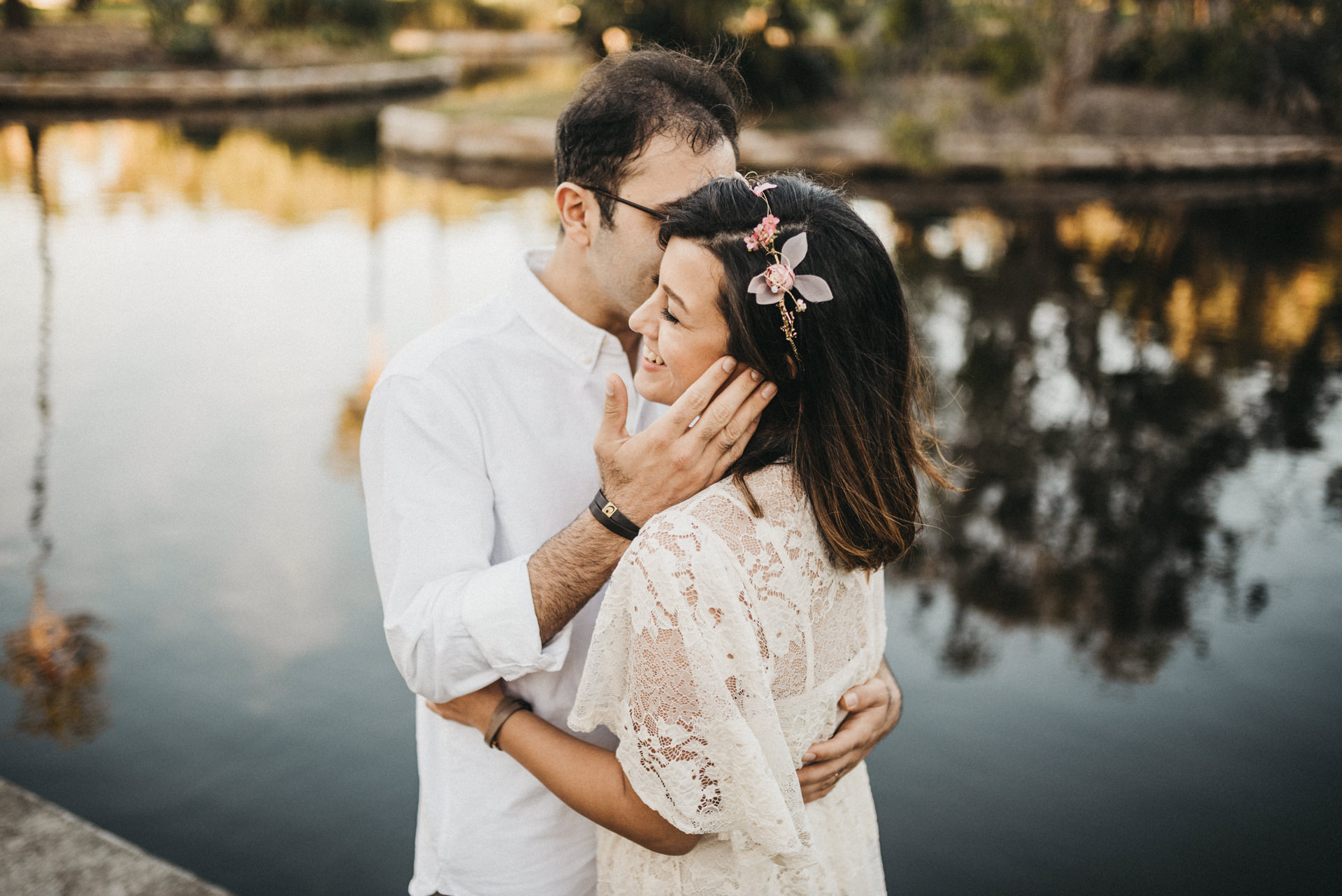 royal botanical garden sydney engagement session