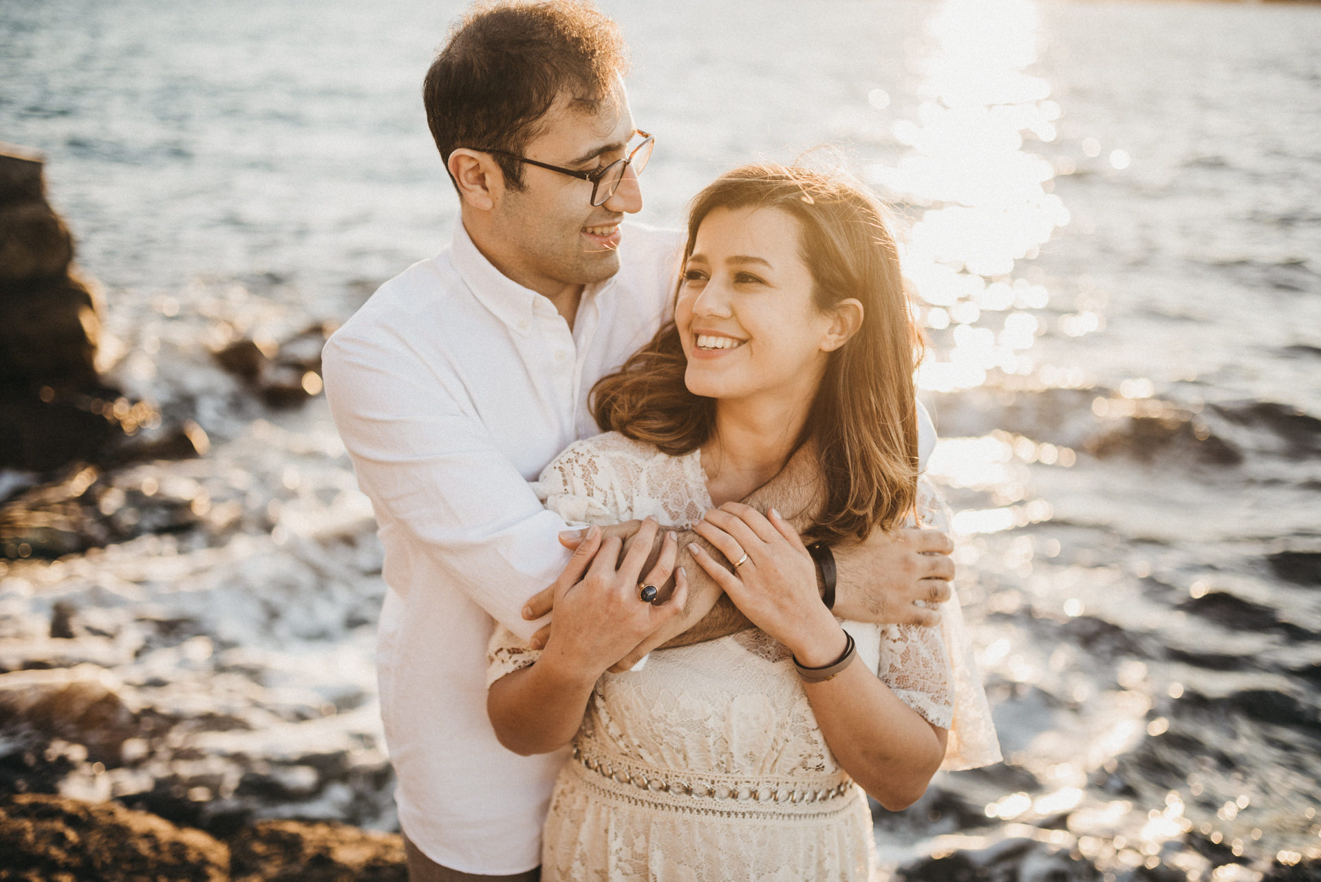 Mrs Macquarie's Chair engagement session