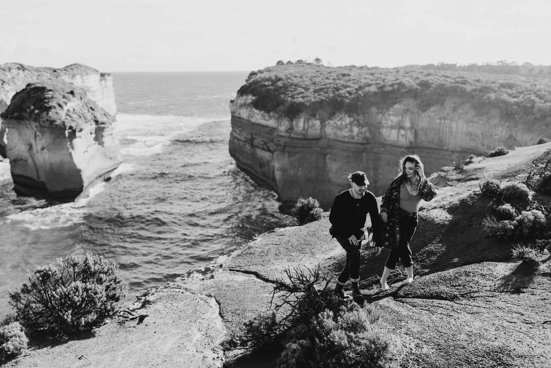 couple shot austalia