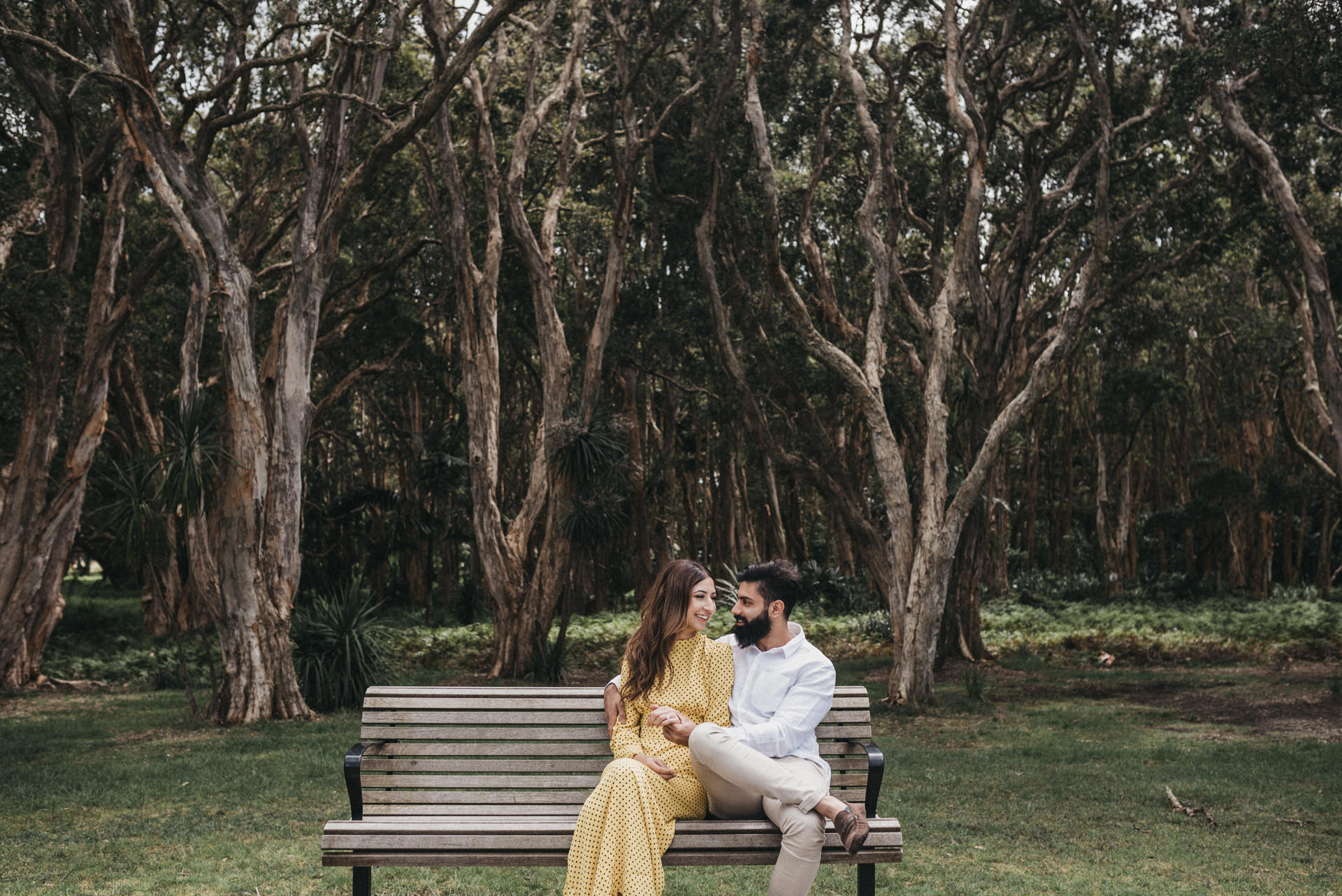 outdoor couple session