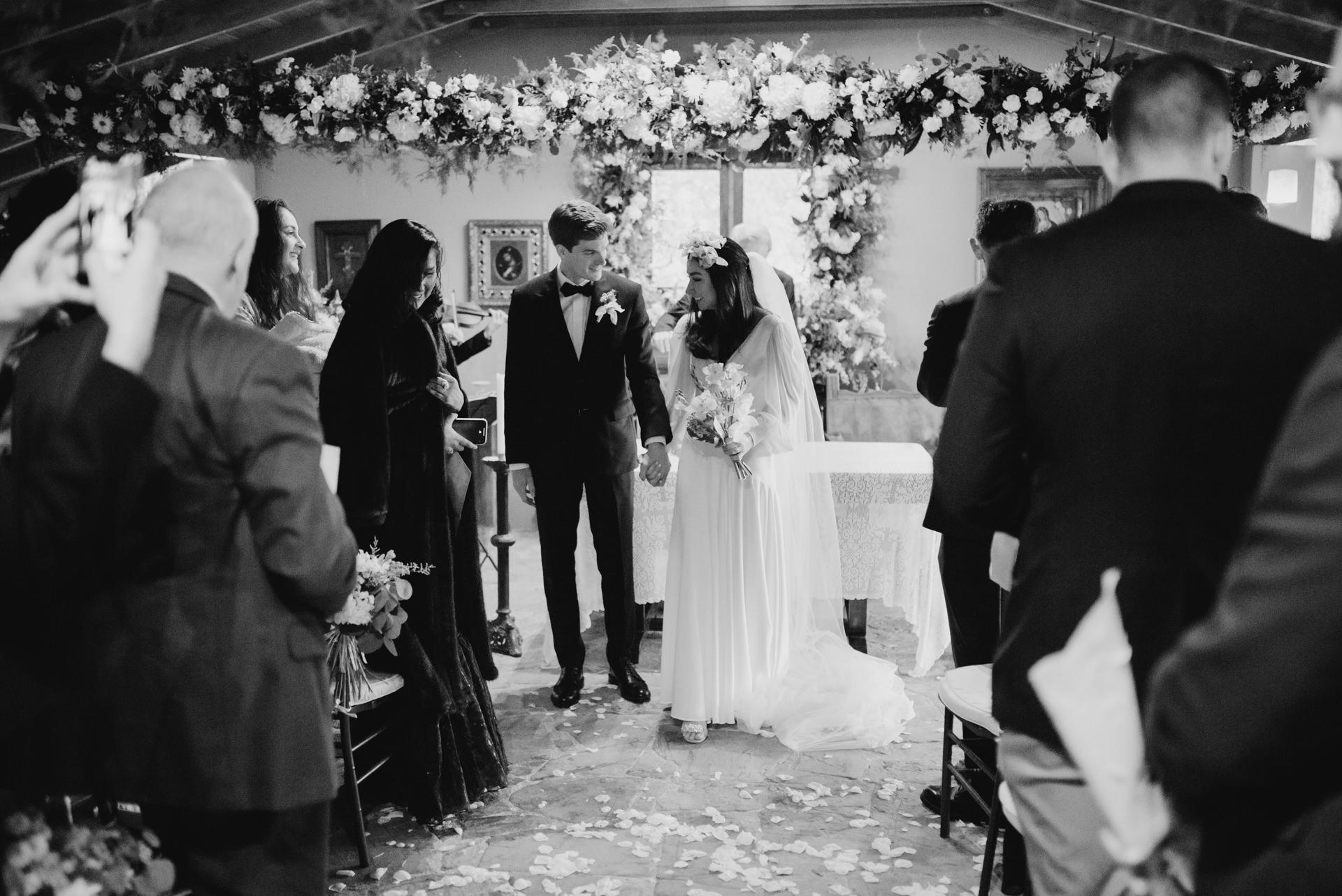 wedding exit ceremony