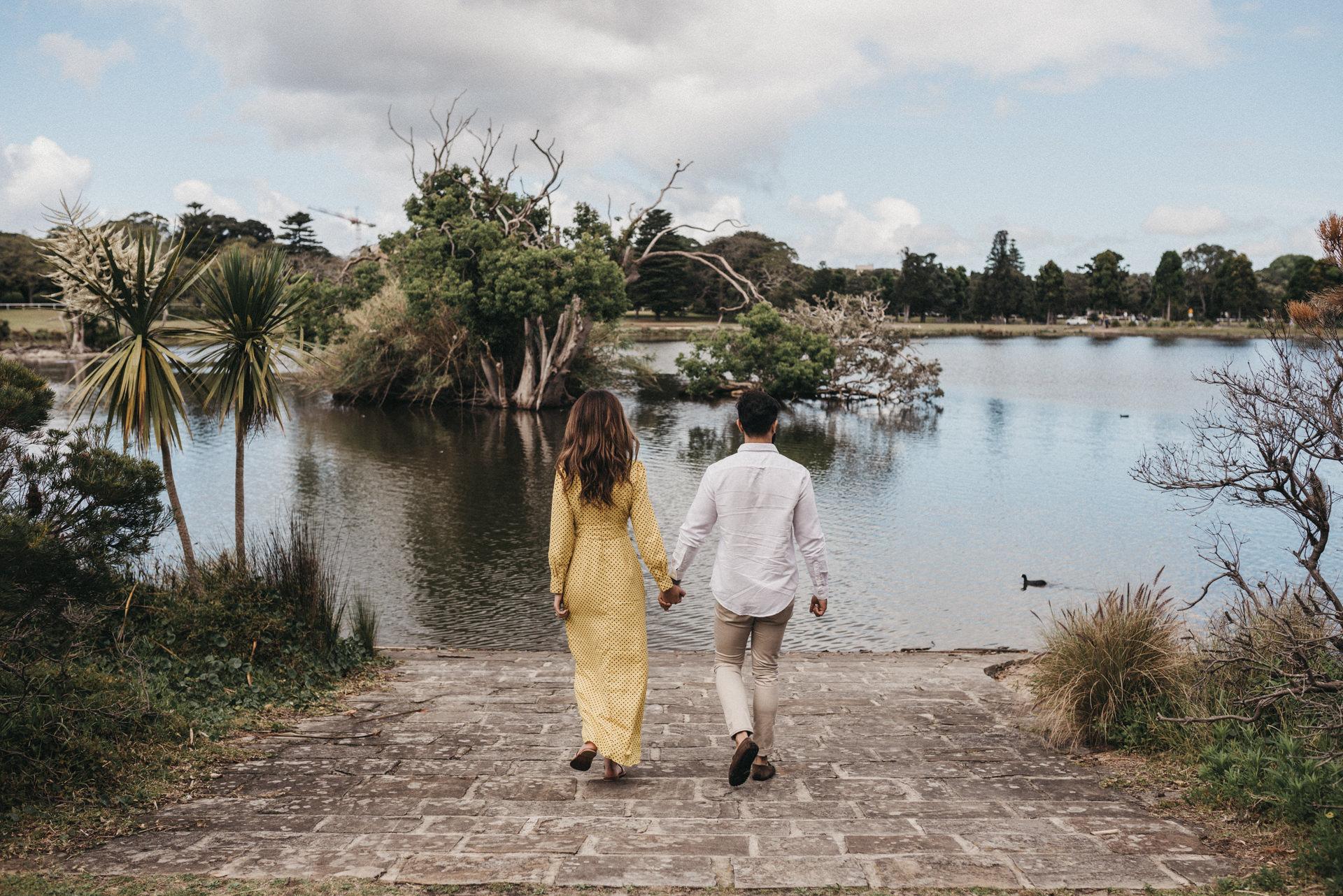 centennial park couple session
