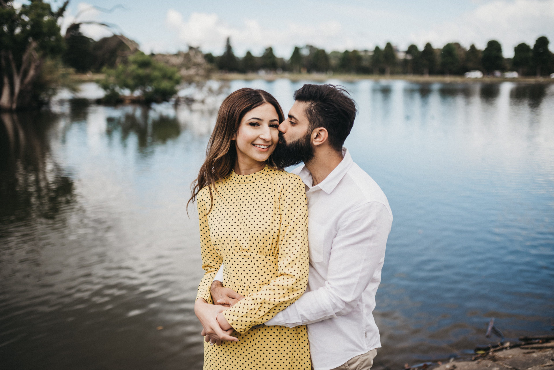 centennial park couple session