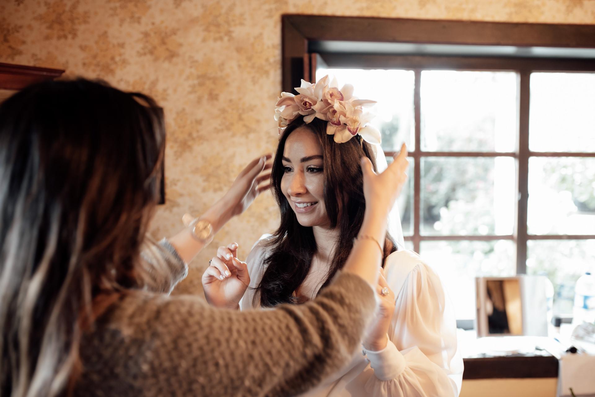bride preps