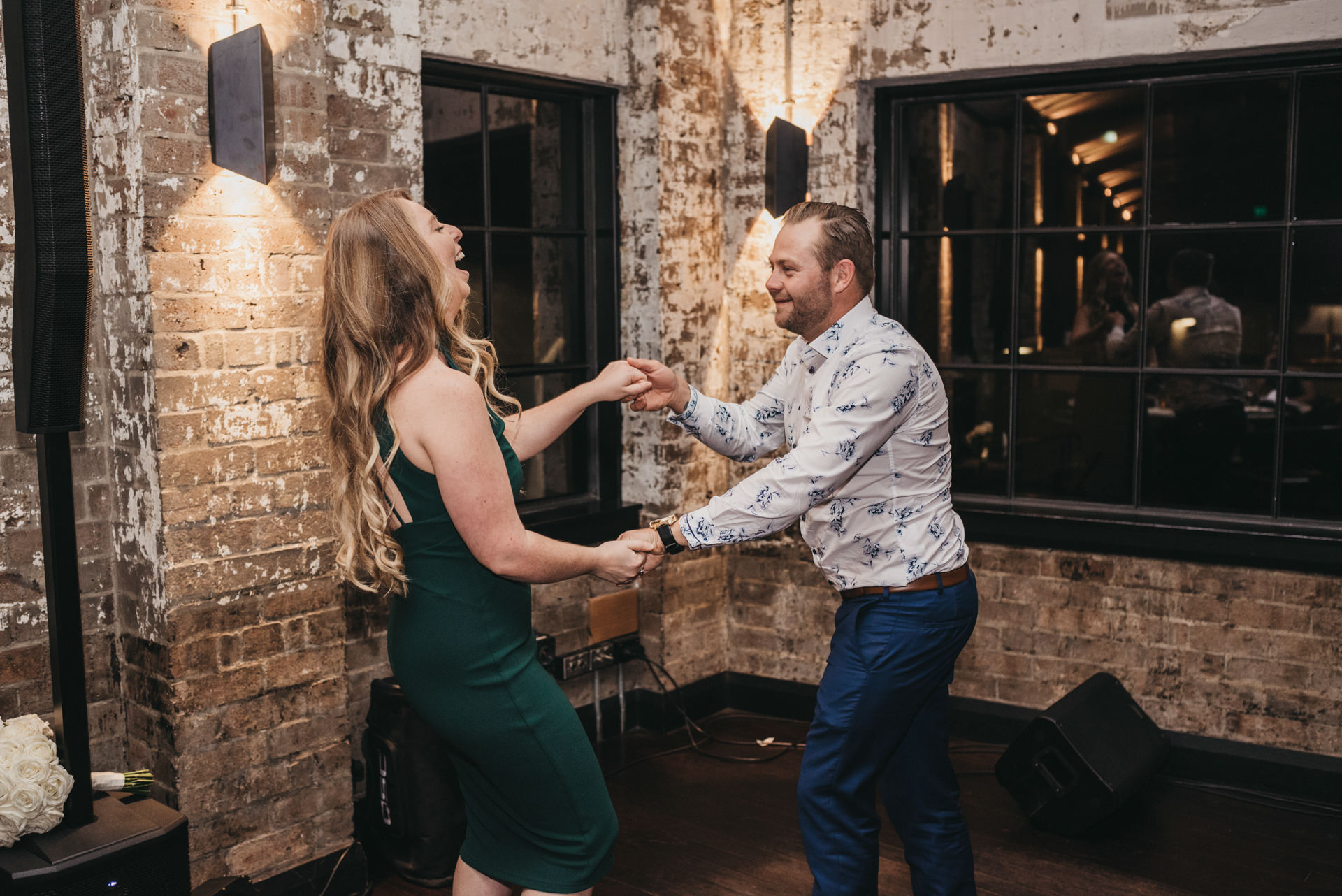 riley st garage wedding